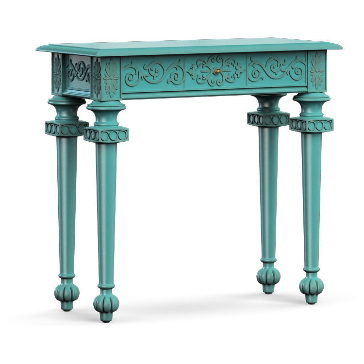 Hooker Furniture Melange Tyfani Accent Console Table 3d Model Max Obj Fbx  Mat 1 ...