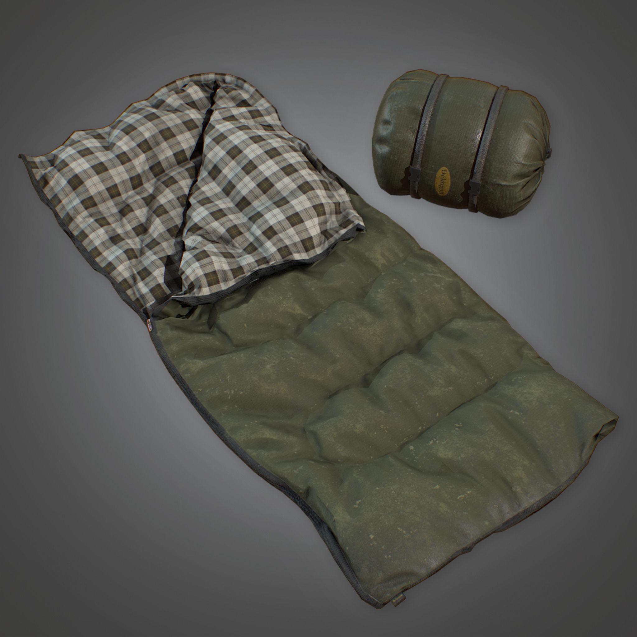 CAM - Sleeping Bag 01 - PBR Game Ready
