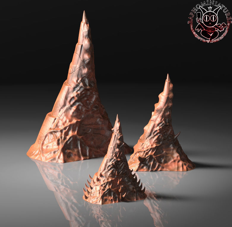 Warhammer Tyranid Spire Terrain | 3D Print Model