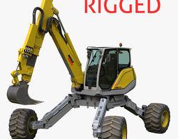 3D model Menzi Muck Excavator