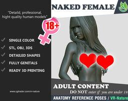 3D Naked Girl Printable 180226-02