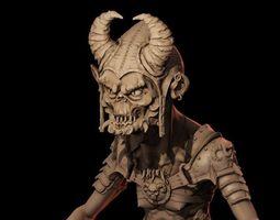 Goblin 3D print model dwarf
