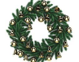 3D Christmas Wreath 2