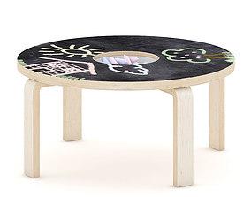 3D Chalkboard Table