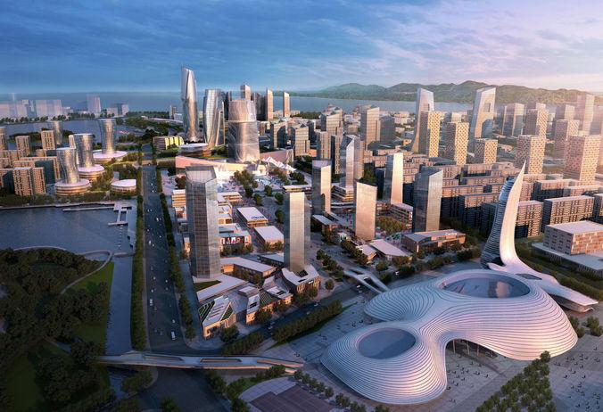 City Block 0023D model