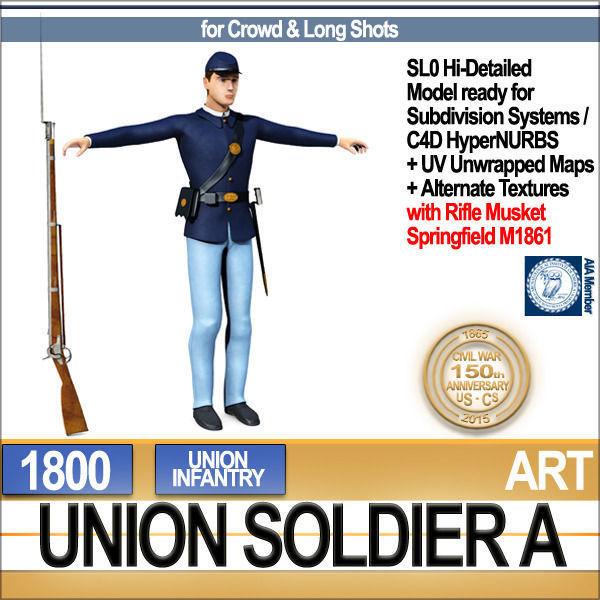 Civil War Union Soldier A Infantry