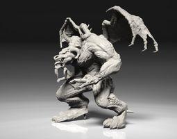 3D printable model Warhammer 40k Age of Sigmar Pit Ogre