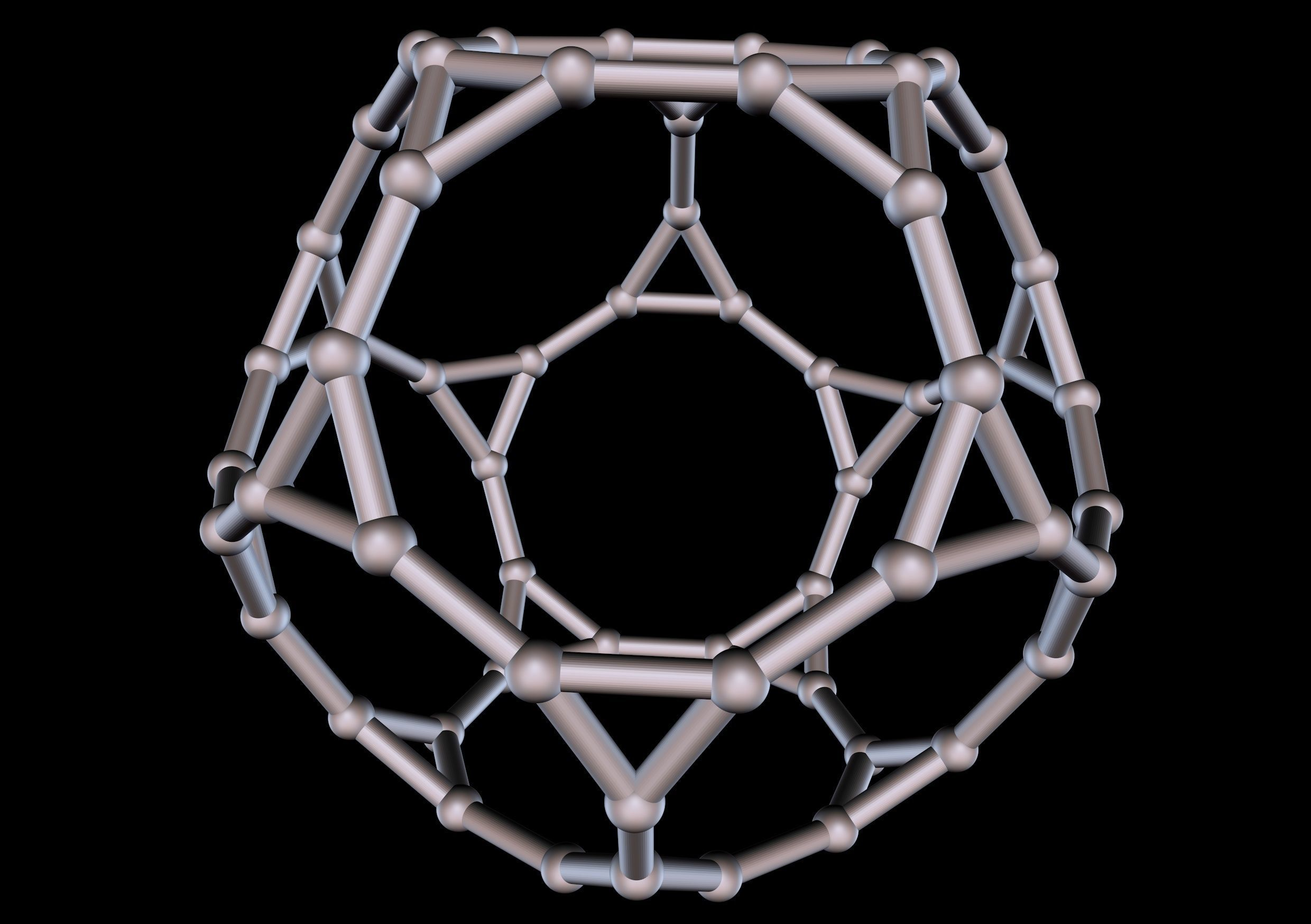 044 Mathart-Archimedean Solids-Truncated Dodecahedron 02-10cm