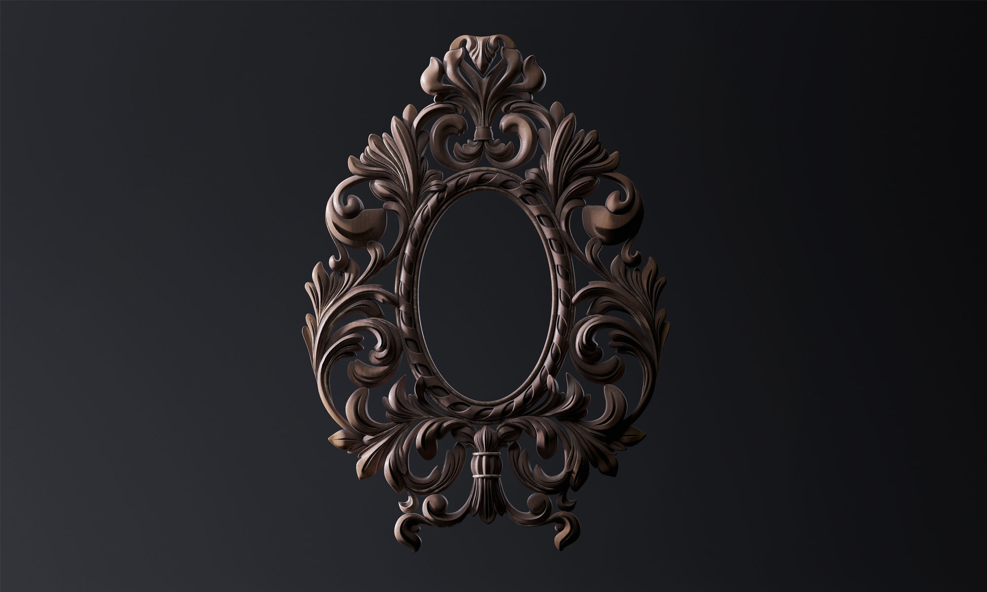 Carved Mirror Substance Painter | 3D model