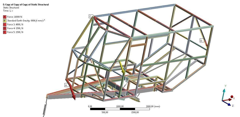 3D model Camper frame | CGTrader