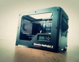 3D print model Replicator 2 Side Panels