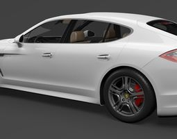 3D Porshe Panamera S Hybrid 2014