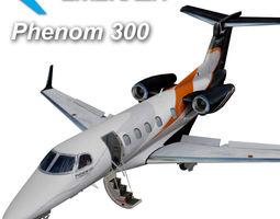 Embraer Phenom 300 3D Model