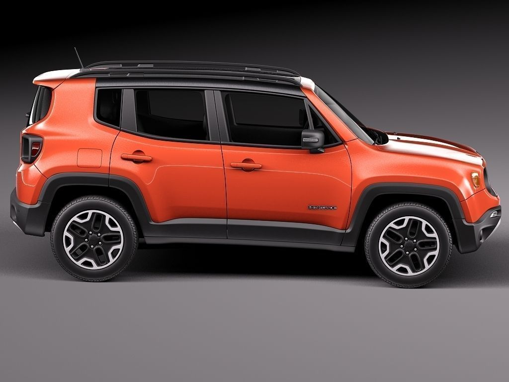 jeep renegade 2015 3d model max obj 3ds fbx c4d lwo lw lws. Black Bedroom Furniture Sets. Home Design Ideas