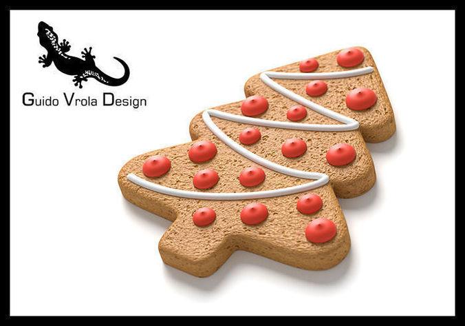 Gingerbread tree3D model