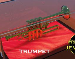wind Printable trumpet pendant