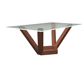 Coffee and Living Room Table 3D print model