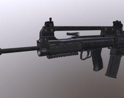 3D asset VHS Military Weapon