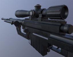 M200 Sniper Rifle 3D asset