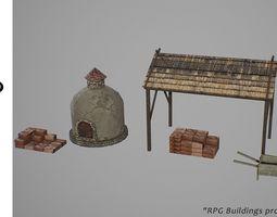 3D model game-ready Quarry