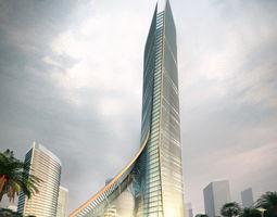architecture 029 3d model