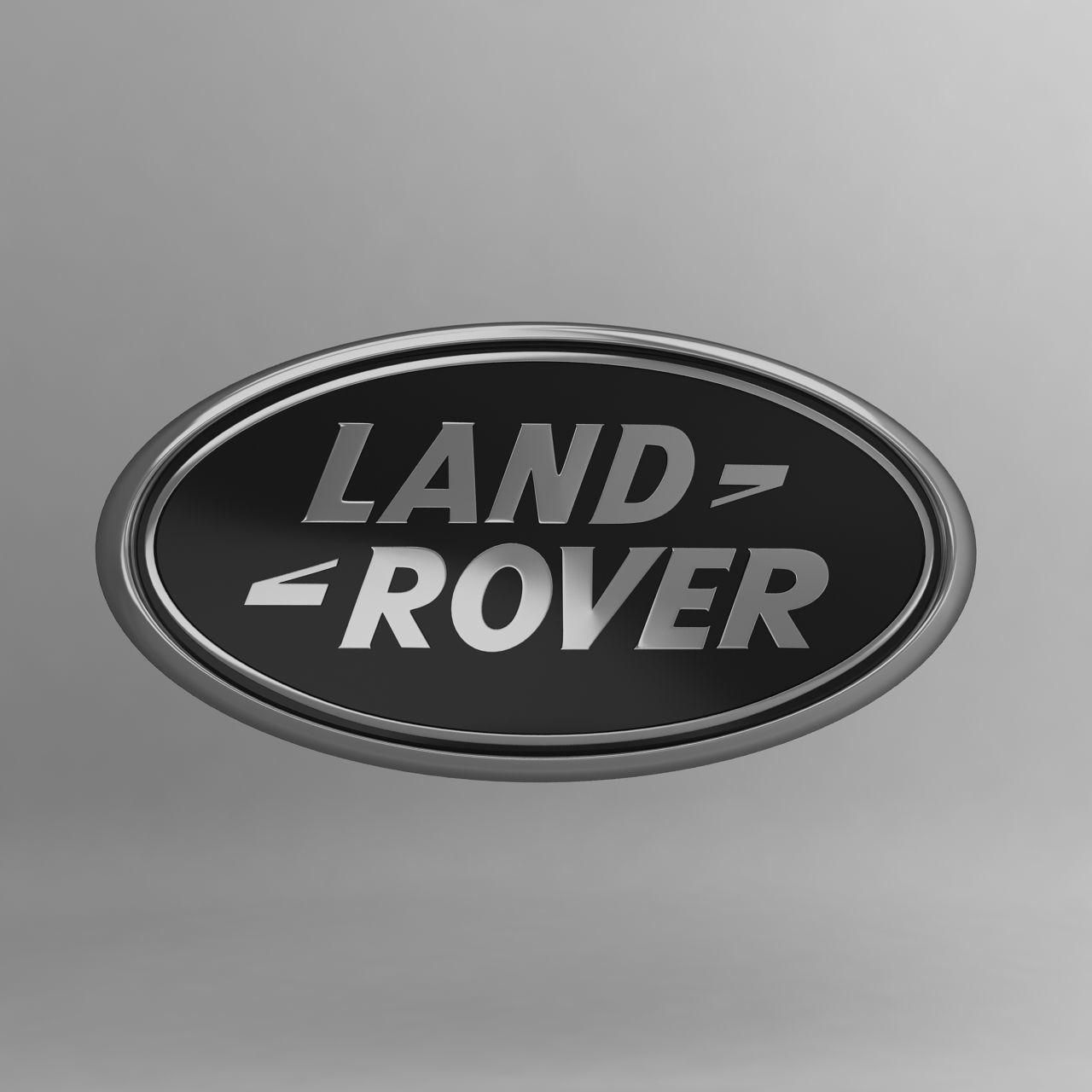 Land Rover Car Logo Keychain 3d Model Cgtrader