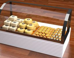 cheese refrigerator 3D Model
