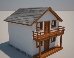 3D model House Cartoon 10