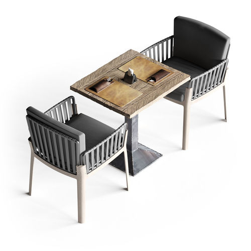 ... Miami Chair Welded Table And Table Setting 3d Model Max Obj Fbx Mtl 5  ...