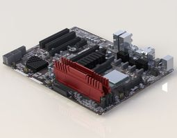 3D Motherboard AsRock 970 Extreme 3 R2