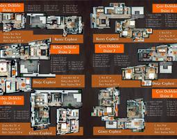 3D asset sketchup 2017 floor plan full model and vray 34