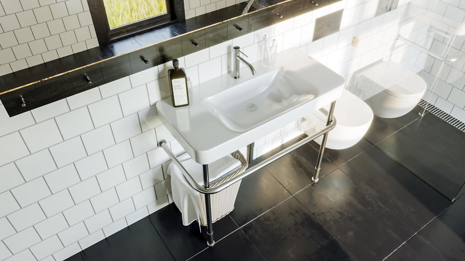 ... bathroom scene for cinema 4d and corona renderer 3d model c4d 2