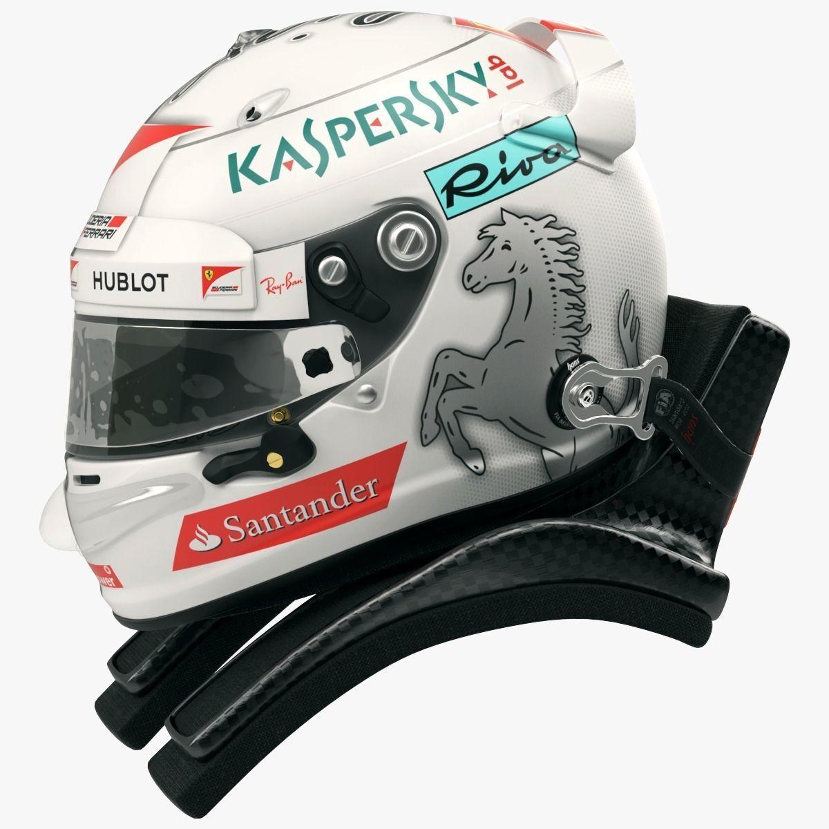 Sebastian Vettel 2017 style Racing helmet
