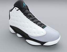 Air Jordan 13 Retro 3D lifestyle