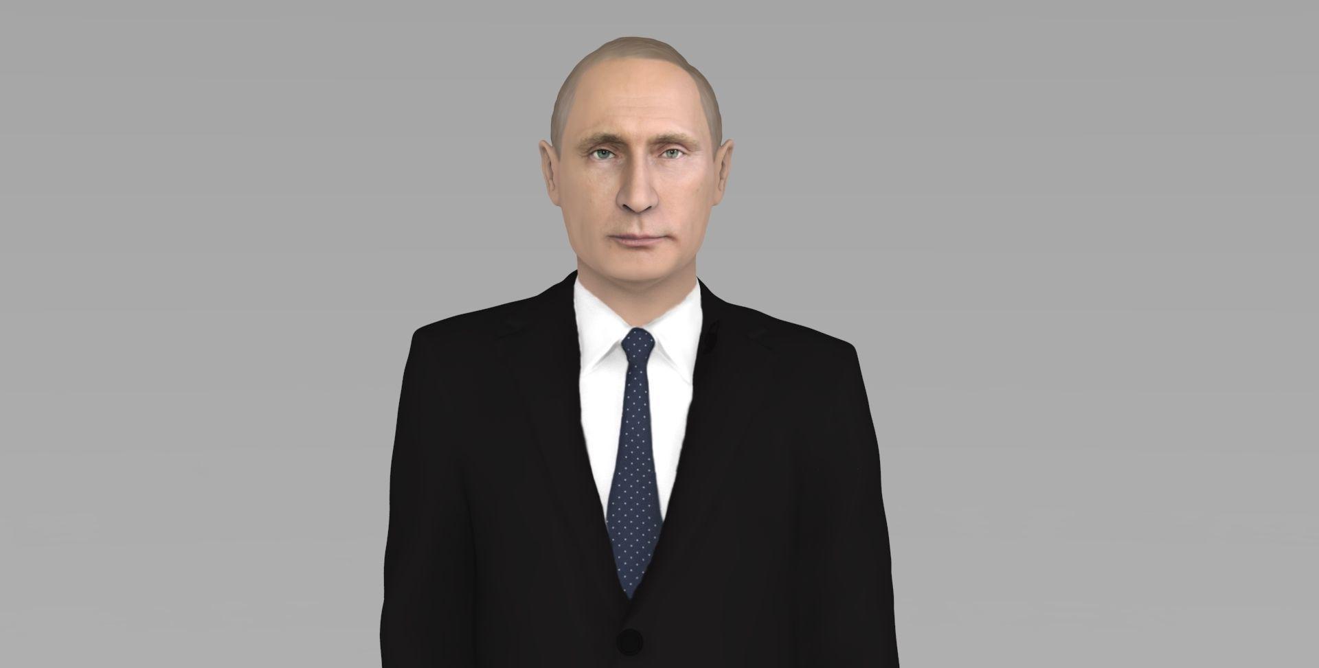 Vladimir Putin ready for full color 3D printing
