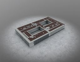 3D model EDDB Technical Building 5