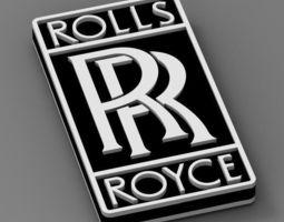 rolls roys 3D print model