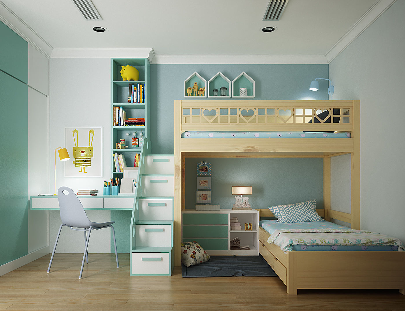 3D Kids bedroom | CGTrader on New Model Bedroom  id=57869