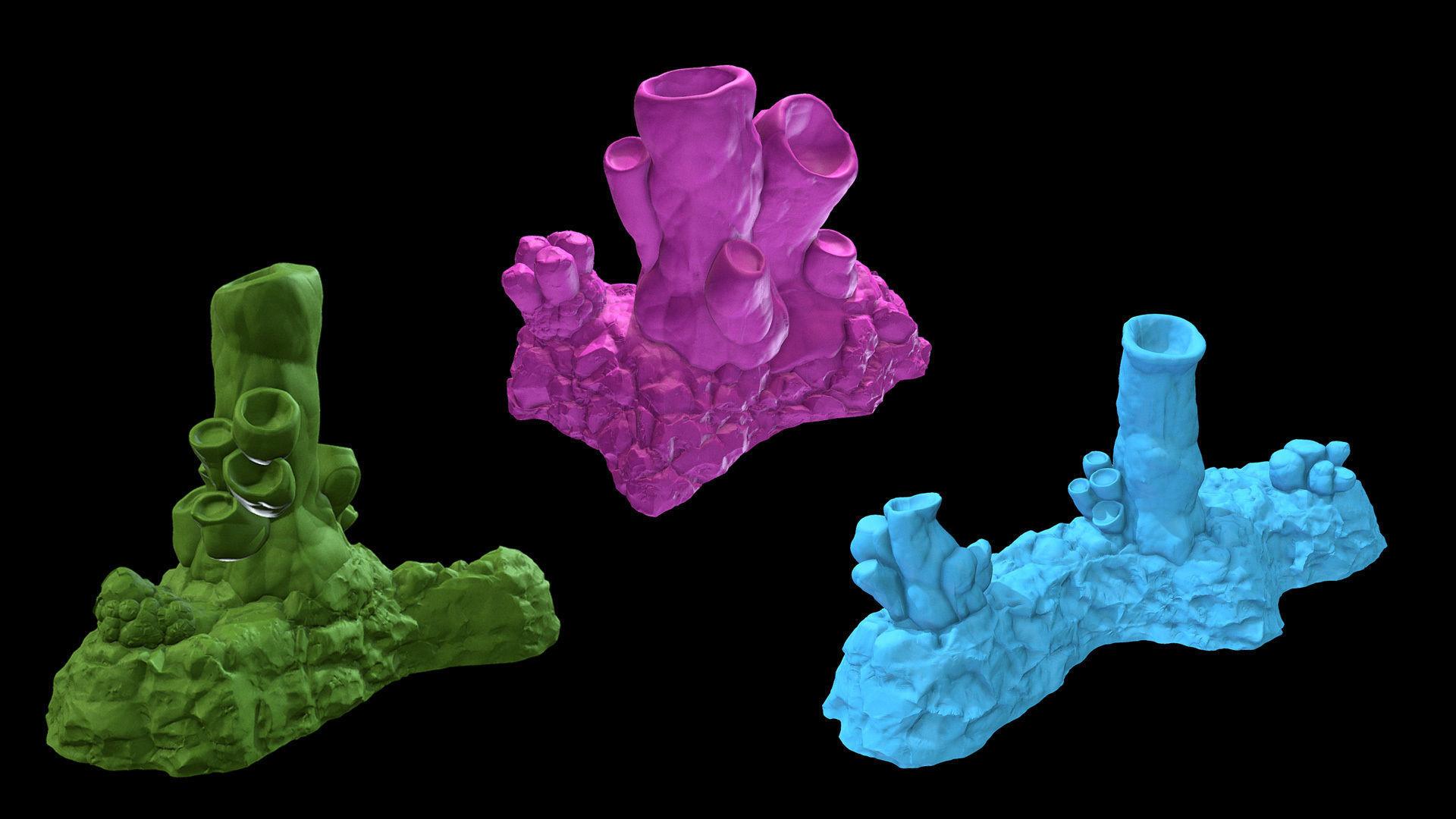 Cavern terrain alien lifeform | 3D Print Model