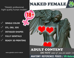 3D print model Naked Angel Standing 1803052