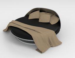Circle Bed 3D model