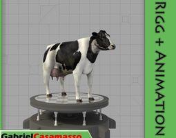 Farm Cow 3D model