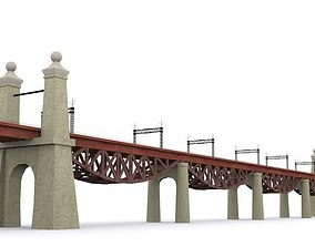 little Hell Gate Bridge 3D model