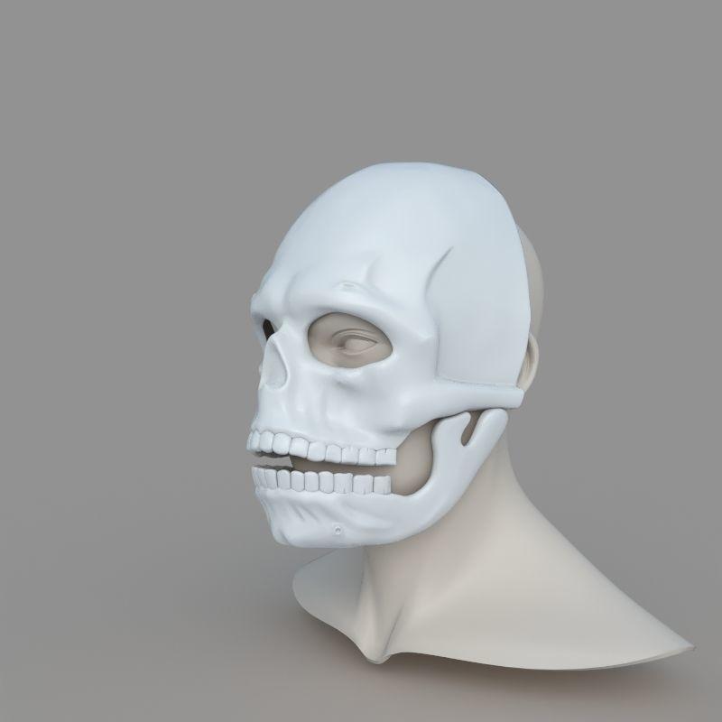 James Bond Spectre Mask Skull Skeleton Scary Halloween Carnival