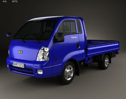 3D Kia Bongo PU Pickup 2004