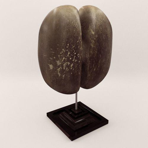 sculpture coco de mare - around 1900 3d model max obj mtl fbx pdf 1