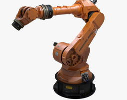 Factory Robotic Arm 3D model