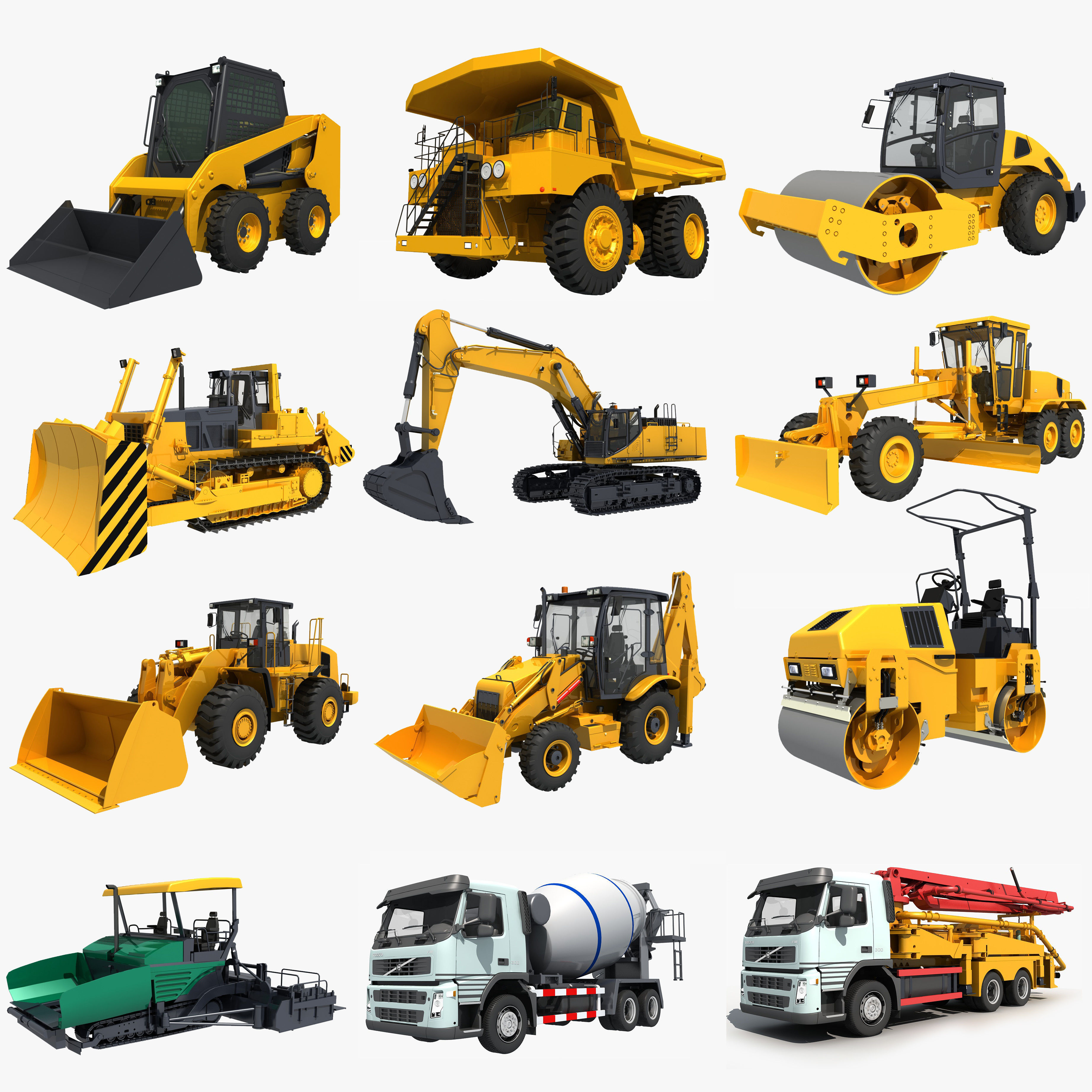 Collection Construction Vehicles 05