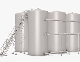 Industrial Equipment 3D