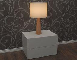 3D Lamp - night table light
